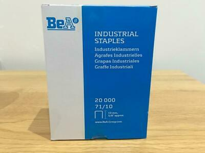 20,000 BEA 71/10 Industrial Upholstery Staples Great Quality Cheapest