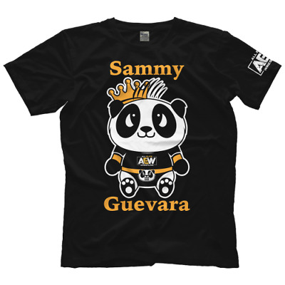 9569 T-Shirt Sammy Guevara All Elite Panda Bis 5XL ! AEW All Elite Wrestling