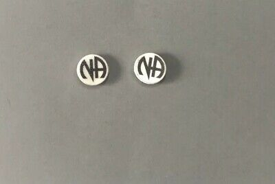 1 Pair Narcotics Anonymous Earrings Recovery Sobriety Gifts NA Recovery Jewelry