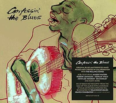 Confessin' the Blues - Self-Titled - Double CD - New