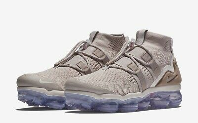 "Nike Air Vapormax Flyknit Utility ""moon Particle"" Size 10 New (Ah6834-205)"