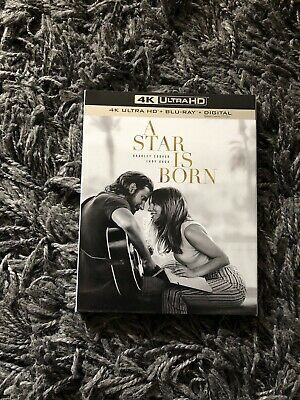 A Star is Born (Blu-ray 4K UHD+ Blu-ray  , 2018) BRAND NEW DISCS