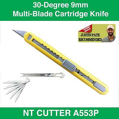 NT CUTTER A553P–9mm Cartridge Cutter snap off blade WRAPPING TOOL SYDNEY STOCK