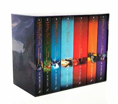 Harry Potter The Complete Collection 7 Books Paperback Boxed Set