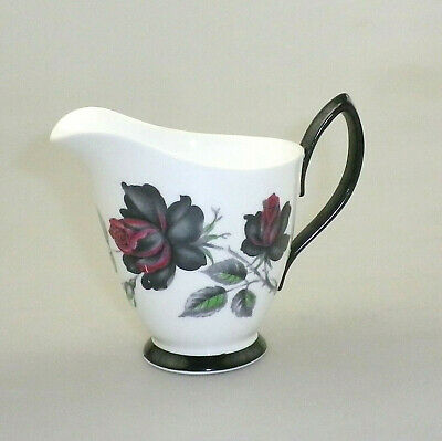 Vintage Royal Albert China Milk Jug  Masquerade (Variant)