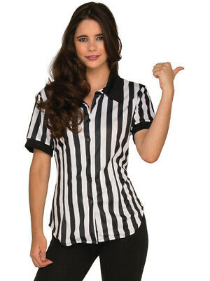 f43e4bf267b REFEREE FITTED SHIRT Adult Womens Halloween Costume -  14.42