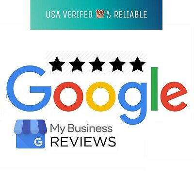(10) 5 star google US based reviews for Business - 100% REAL PEOPLE