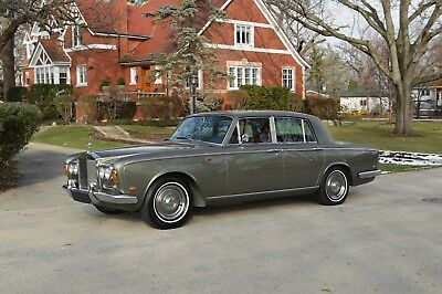 1969 Rolls-Royce Silver Shadow - standard saloon Adorable early chrome bumper Shadow - beautiful example.