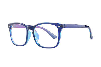 Customized Progressive Multifocal Reading Glasses Anti Blue Light Lens Frame