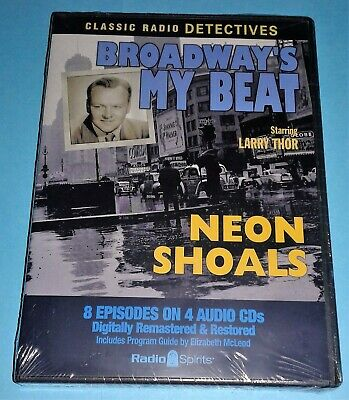 Broadway's My Beat (Old Time Radio) (Brand New 4 CD Set) Very Rare!! Free S & H