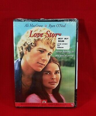 Love Story DVD Ryan O'Neal Ali MacGraw John Marley 1970 BRAND NEW WIDESCREEN