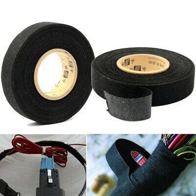 15m x 19mm Tesa Adhesive Cloth Fabric Wiring Harness Loom Tape Cable Rall Tool
