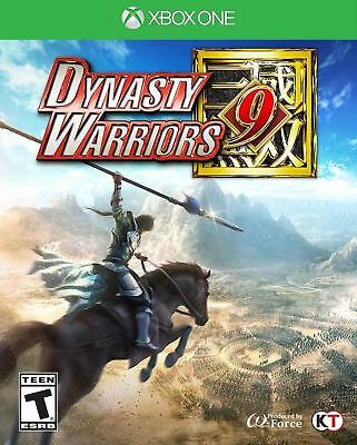 Dynasty Warriors 9 (Xbox One, 2018) Brand New Factory Sealed