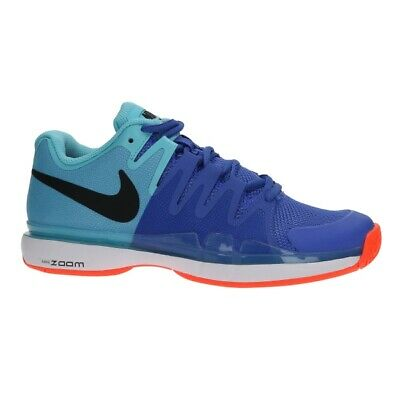 6a118aea43053 Nike Zoom Vapor 9.5 Tour (Polarized Blue   Black) Roger Federer. 631458-