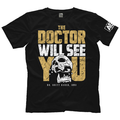 9575 Britt Baker The Doctor Will See You Bis 5XL ! AEW All Elite Wrestling