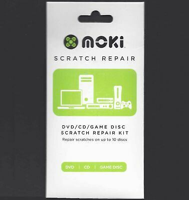 Moki CD/DVD/BLURAY/GAME DISC SCRATCH REPAIR KIT NEW
