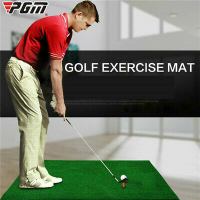 Practical Golf Mat Home Indoor Golf Training Putting Pad Hitting Mat With Tee