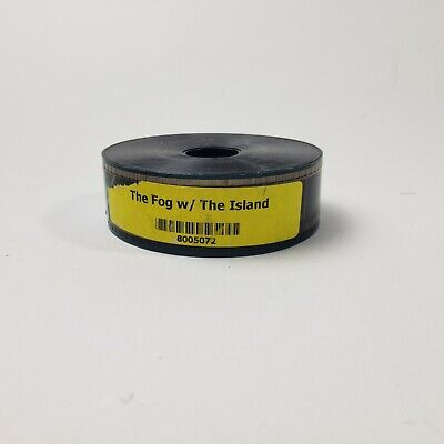 35mm Movie Trailer The Fog/The Island Film Cell Collectible Theater Preview
