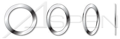 100 pcs M40, THK=0.1mm DIN 988 Precision Shim Rings A2 Stainless