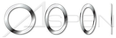100 pcs M30, THK=0.1mm DIN 988 Precision Shim Rings A2 Stainless