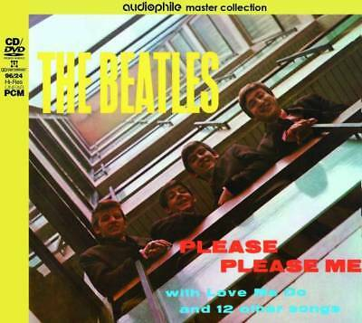 THE BEATLES PLEASE PLEASE ME  [1CD+1DVD] AUDIOPHILE MASTER COLLECTION vol.1 *F/S