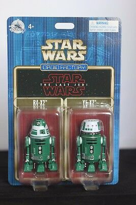 Star Wars The Last Jedi Droid Factory R4-X2 Y5-X2 Disney Parks Double Pack