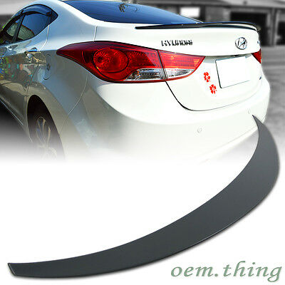BLOW OUT SALE! 2013 2014 2015 2016 KDM OEM quality spoiler for Hyundai Elantra