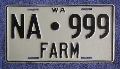 Nungarin Farm License/number Plate # Na.999