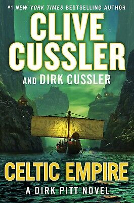 Celtic Empire Dirk Pitt Adventure Clive Cussler Hardcover Mystery Action Book 25
