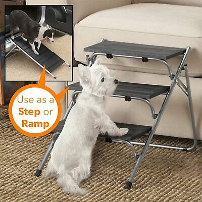 portable Pet Steps Collapsible Light Weight Metal for dog and cat