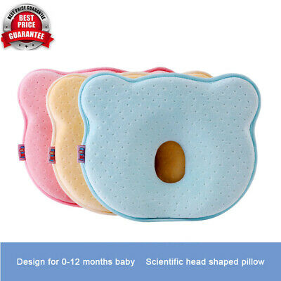 New Infant Pillow Prevent Flat Head Memory Foam Baby Cushion Sleeping Support