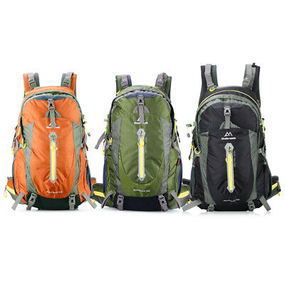 b44deb74e 50L Outdoor Sports Backpack Hiking Camping Water Resistant Bike Rucksack Bag