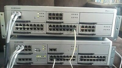 SAMSUNG OFFICE SERV7200 Telephone Systemwith 26 handsets