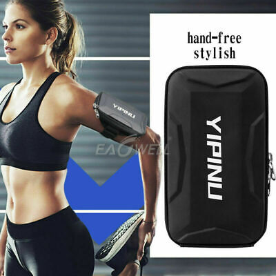 Black Universal Sport Gym Running Riding Arm Band Pouch For Samsung Holder Bag