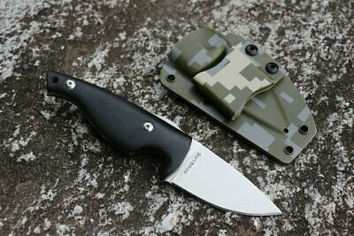 7'' New G10 Handle 9CR18MOV Steel Full Tang Survival Bowie Hunting Knife VTH114