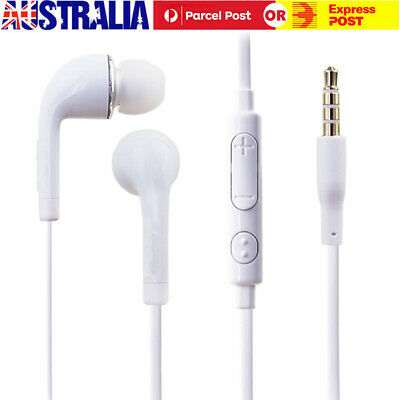 Wired Earphones In Ear Stereo Headset Headphone Earbud With Mic For Samsung