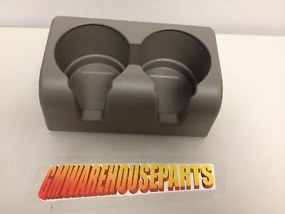 2004-2012 Colorado Canyon Cup Holder Grey New Gm # 89039574