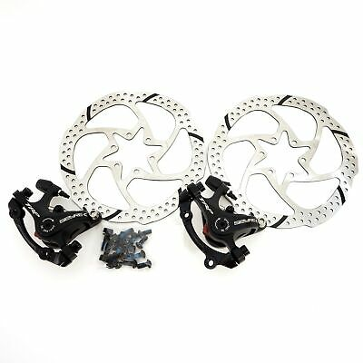 TRP Spyre-C Alloy Mechanical Disc Brake Caliper Front/Rear/Set w/ 160mm rotor