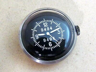 AIRCRAFT gun CAMERA CLOCK ZIM USSR Soviet vintage AIR FORCE BUTTON