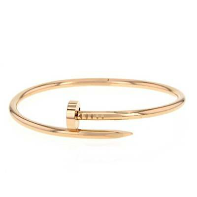 Carter Nail Cuff Love Bracelet - silver, gold, rose - high quality+++