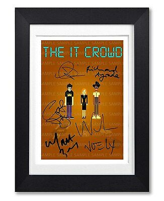 It Crowd Cast Signed Poster Print Tv Series Show Season Photo Autograph Gift