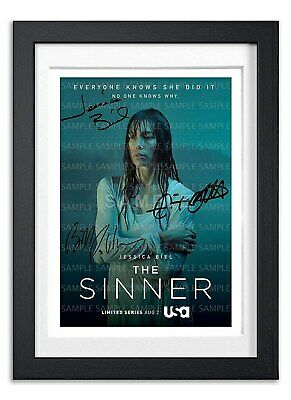 The Sinner Cast Signed Poster Print Tv Show Series Season Photo Autograph Gift