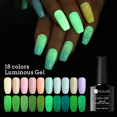 UR SUGAR 7.5ml Luminous UV Gel Polish Summer Theme Soak Off Nail Art Manicures