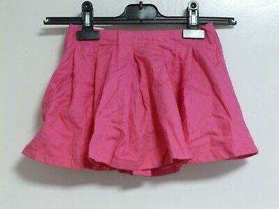 vertbaudet girls pink pleated skirt with zip SIZE 4 YEARS NEW CR180 EE 06