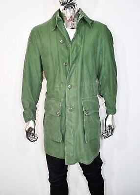 c3c5074feca Vintage DELTA BRITANNIA Surplus Mens FIELD JACKET ARMY Coat MILITARY PARKA  C50