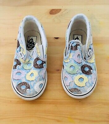 Toddlers Vans Slip-on Doinuts U.S Size 8