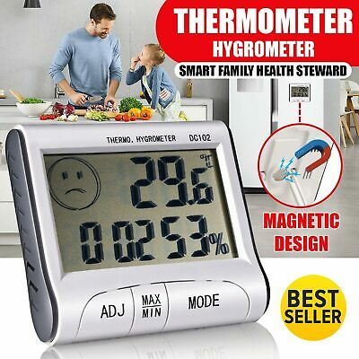 Digital Thermometer Humidity Meter Room Temperature Indoor Mini LCD Hygrometer