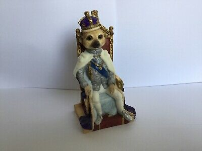 Superb Very Rare Country Artists Magnificent Meerkats Winston Figure