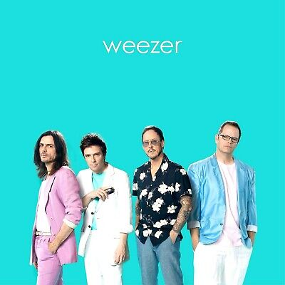 Weezer Teal Album by Weezer Audio CD FREE SHIPPING 075678653322 2019 NEW