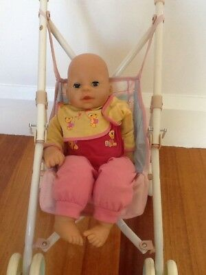 Baby Chou Chou Talking Doll And Baby Annabell Stroller Zapf Creations